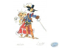 Musketeer & young woman