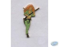 Pin's, Redhead woman