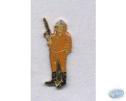 Pin's, Barney Jordan with gun