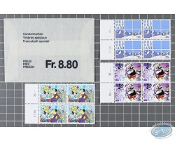 Special Stamps 4 Stamps Sheets