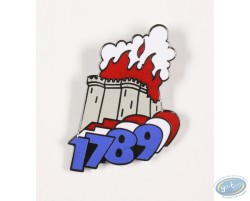 1789, the French Revolution, the fortress on fire!