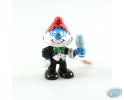 Big Smurf in Suit, a glass in the hand!