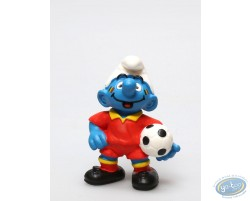 Smurf Belgian Supporter in red uniform- Worldcup 2014