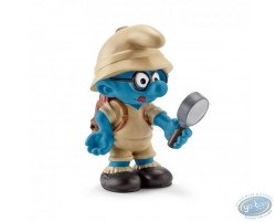 Smurf with glasses explorer
