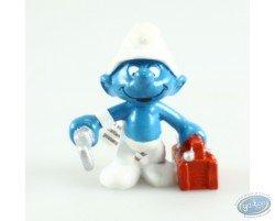 Smurf plumber