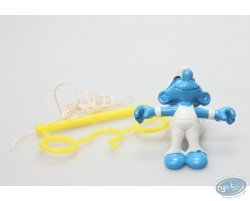 Smurf ring gymnast