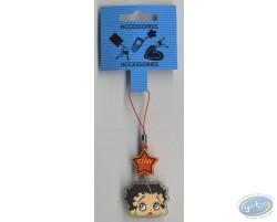 PVC GSM pendant : Betty Boop.