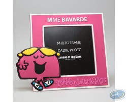 PVC Photo Frame, Mrs. Chatterbox : Pink