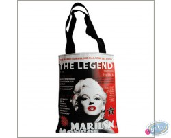 Shopping bag in canvas, Marilyn Monroe