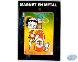 Metal magnet Betty-Boop.