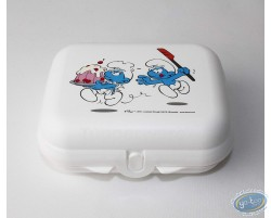 Lunch box TUPPERWARE Smurf - Middle model