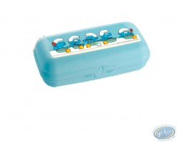 Lunch box TUPPERWARE Smurf - Big model