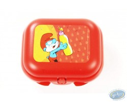 Lunch box TUPPERWARE Smurf - Small model
