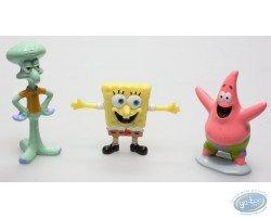3 figurines Bob l'Eponge