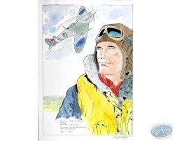 Portrait with Plane