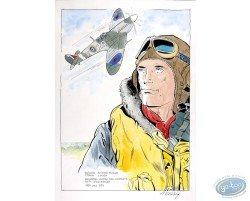 Portrait with Plane 2