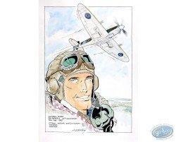 Portrait with Plane 3