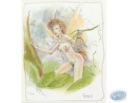 Fairy in the tree