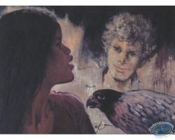 Shelena, boy & bird