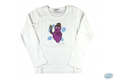 7811ff827e4 T-shirt long-sleeve white Barbapapa for kid   size 140 146