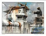 Portfolio, Die Mauer Berlin : Bilal, Die Mauer