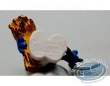 Plastic Figurine, Smurfs (The) : Peasant Smurf - 1981