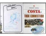Listed European Comic Books, Costa : Tusk Connection (dedication)