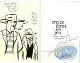 Listed European Comic Books, Treize Etres en Jeu : Intrigue a Folkstone (dedication)