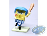 Plastic Figurine, Sponge Bob : Sponge Bob Base-Ball