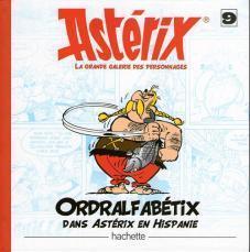 album La Gra Statuette résine Astérix Ordralfabétix dans Astérix en Hispanie