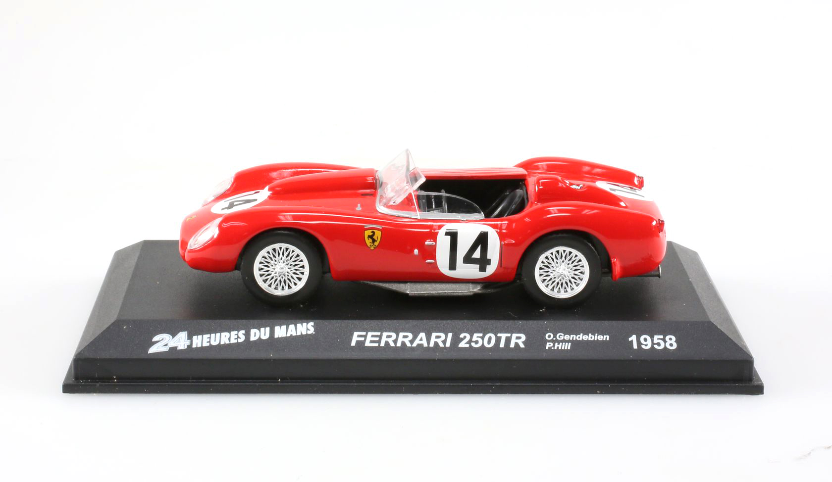 voiture d 39 endurance miniature ferrari 250tr 1958 24h du mans 1 43 ebay. Black Bedroom Furniture Sets. Home Design Ideas