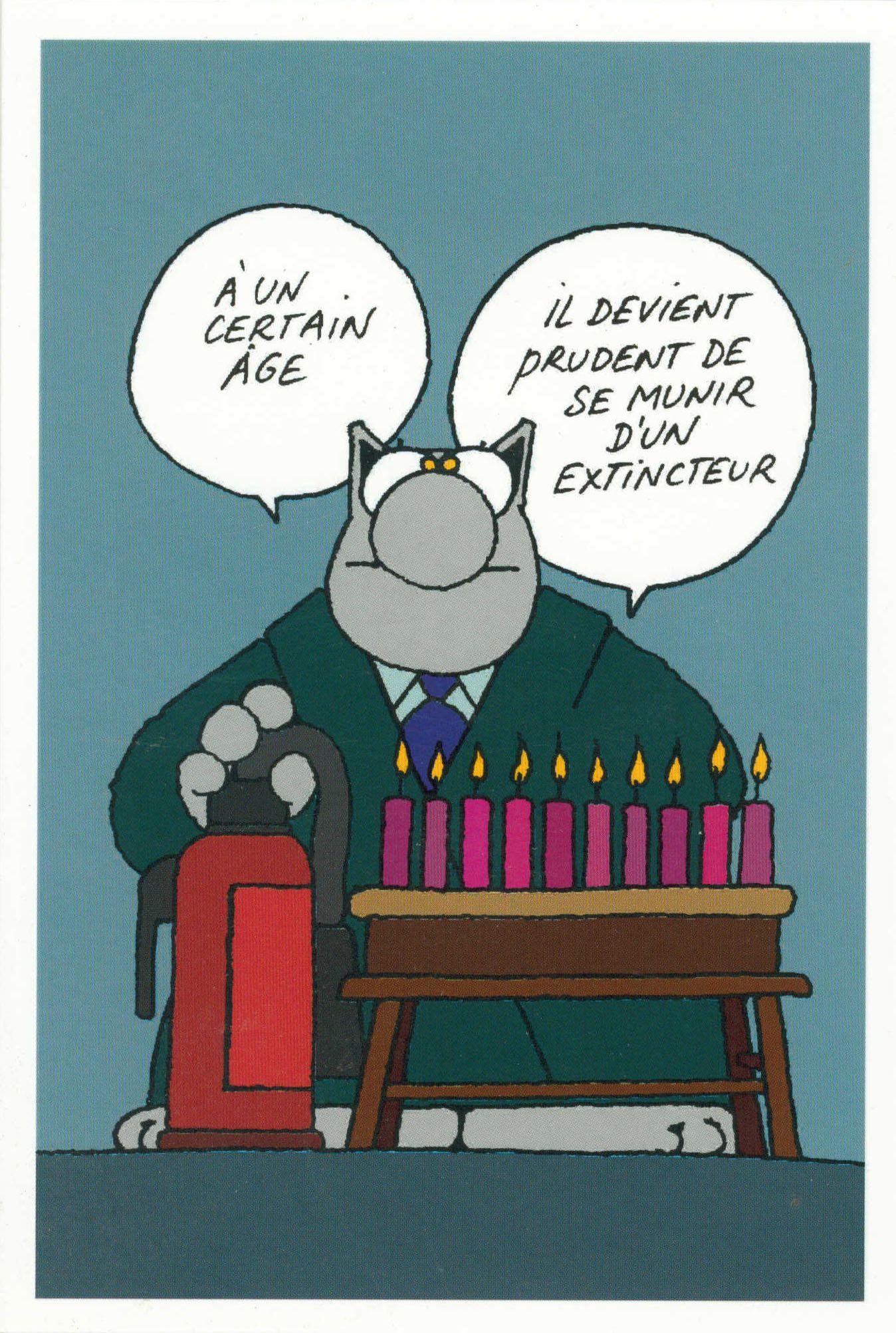 Joyeux Anniversaire Chat Humour