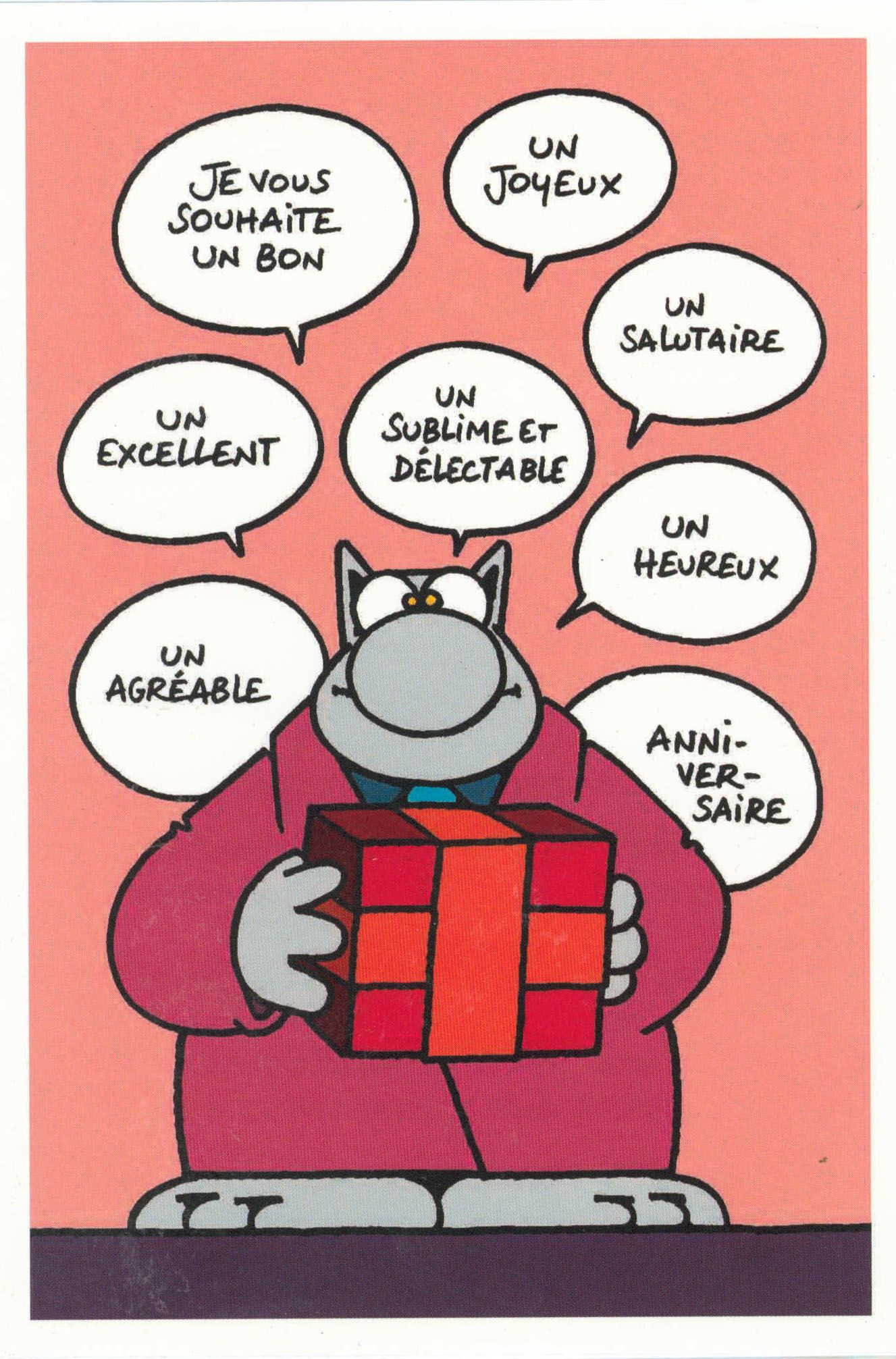 Le Chat Geluck Anniversaire