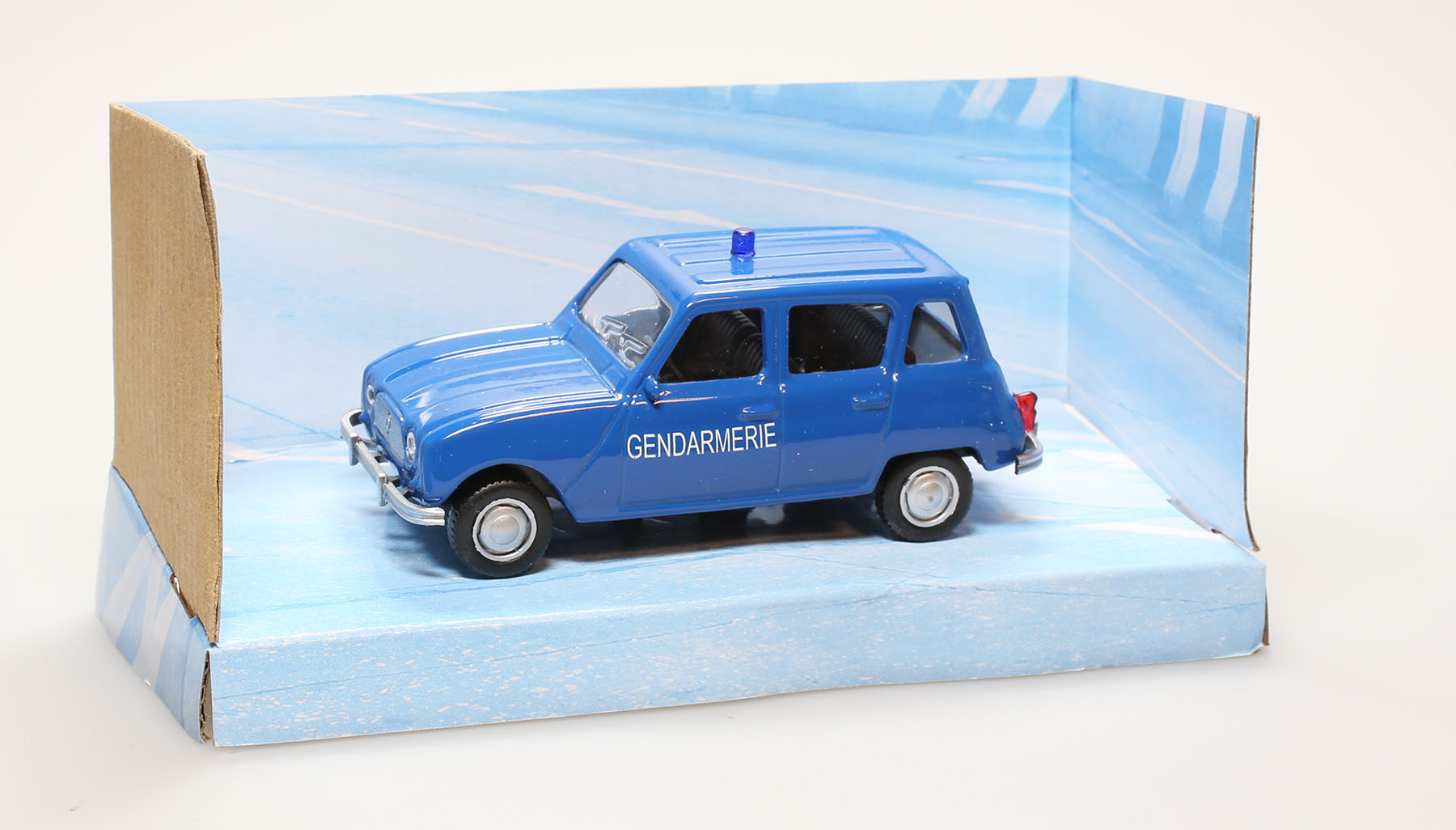 voiture de police miniature renault 4l gendarmerie 1 43 ebay. Black Bedroom Furniture Sets. Home Design Ideas