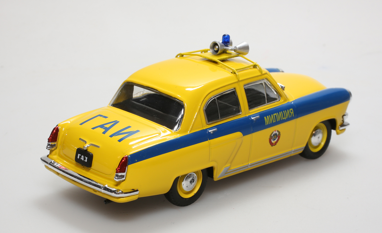 voiture de police autos de l gendes cccp ru miniature cmc gaz m12p volga traf ebay. Black Bedroom Furniture Sets. Home Design Ideas