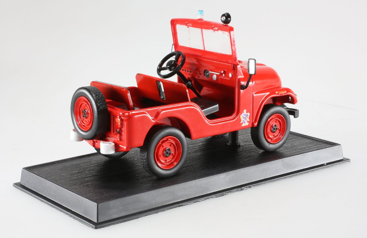 voiture de pompier camions de pompiers du monde miniature jeep willys m38 a1 197 ebay. Black Bedroom Furniture Sets. Home Design Ideas