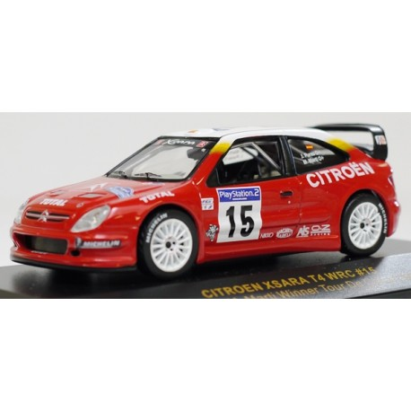 voiture de rallye miniature citro n xsara t4 wrc j puras m marti 1 43 eur 19 99 picclick fr. Black Bedroom Furniture Sets. Home Design Ideas